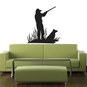 Duck Hunting Dog Hunting Wall Art Sticker decal 013