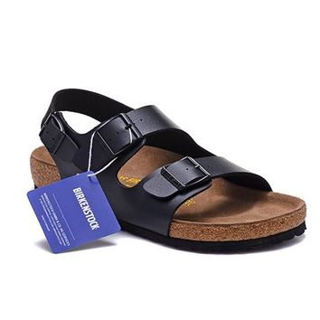 Men's and Women's BIRKENSTOCK sandals Milano Birko-Flor 632632288-119