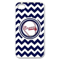 MLB Atlanta Braves Iphone 4/4S Case Cover