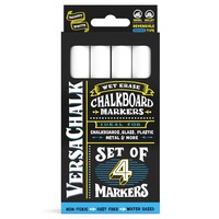 White Liquid Chalk Markers (Bold, 4 Pack)