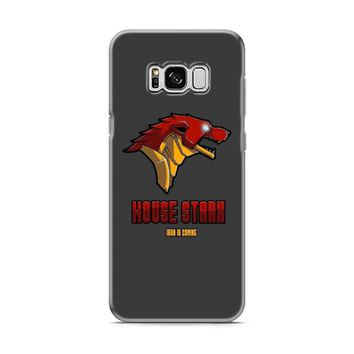 Game Of Thrones House Stark Iron Man Samsung Galaxy S8 | Galaxy S8 Plus Case
