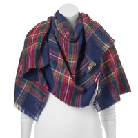 Apt. 9® Woven Plaid Blanket Scarf