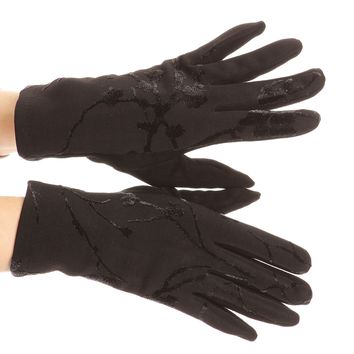 Sakkas Liya Classic Warm Driving Touch Screen Capable Stretch Gloves Fleece Lined