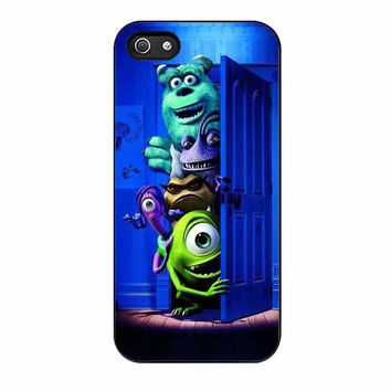 monster inc open door cases for iphone se 5 5s 5c 4 4s 6 6s plus