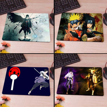 Sasuke Uchiha clan Naruto Mousepad Mouse Pad pc mac laptop notebook usb hwd Gamer anti slip