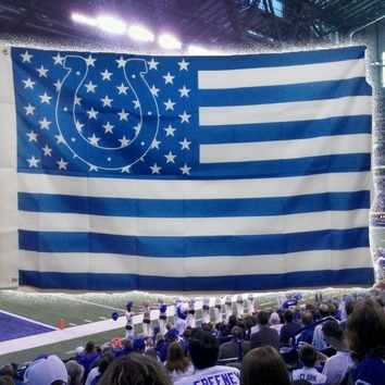 NFL Indianapolis Colts Flag 3' x 5' Stars & Stripes Banner