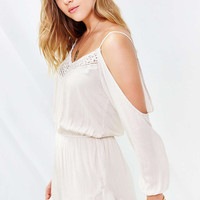 Ecote Floaty Romper - Urban Outfitters