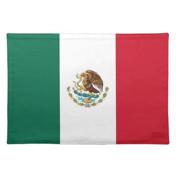 Mexican Flag on MoJo Placemat