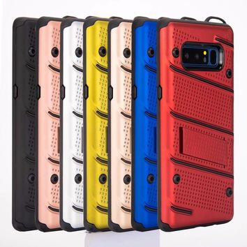 TOKULO Heavy Duty Protection case for Samsung Galaxy S8 S8PLUS S7 S7edge NOTE8 C9 C9pro Rugged phone Case Anti Shock Cover shell