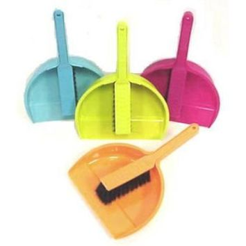Dustpan and with Brush Set - 48 Units