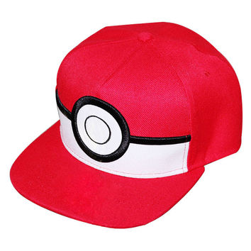 Pokemon Go Hip-hop Hats Canvas Baseball Cap [6338838788]