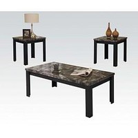 81404 Carly 3Pc Pk Coffee/End Table Set