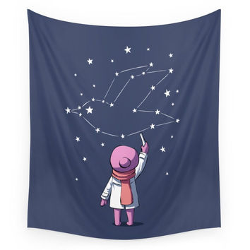 Society6 Constellation Wall Tapestry
