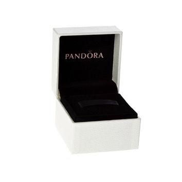 Authentic Pandora Black Velvet & White Exterior Hinged Charm Box Packaging Free Shippi