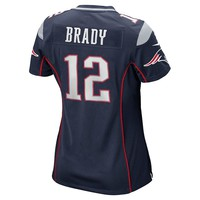 Nike New England Patriots Tom Brady Super Bowl XLIX Game NFL Replica Jersey - Women