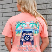 """Jadelynn Brooke- """"Places To Go"""" T-shirt"""