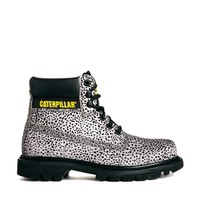 Caterpillar Colorado Pony Effect Dot Printed Ankle Boots