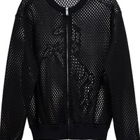 Stella McCartney 'Airtex' bomber jacket