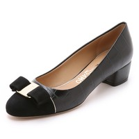 Vara Luxury Low Heel Pumps