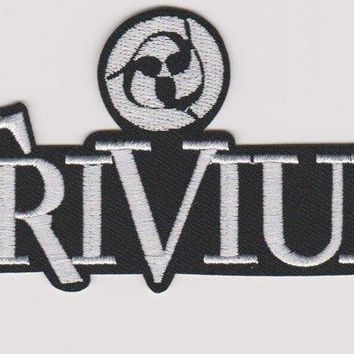 Trivium Iron-On Patch White Letters Logo