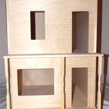 The House That Jack Built The Store Dollhouse Pre-Assembled Unfinished Wood
