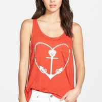 Women's Wildfox 'Sail Away with Me' Pocket Tank,