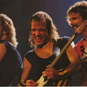 The Scorpions Live 1989 Poster 24x34