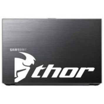 Thor Motocross Car Window Tablet PC Decal Automobile Window Wall Laptop Notebook Etc. Any Smooth Surface