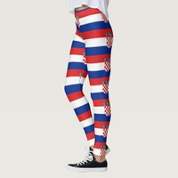 Leggings with flag of Croatia