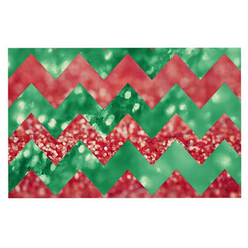 "Beth Engel ""Sparkle"" Chevron Decorative Door Mat"