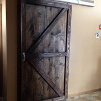 Vintage sliding Barn Door- Custom made to fit your style
