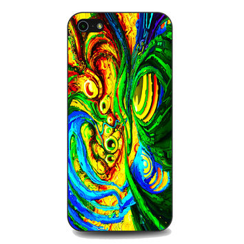Colorful Trippy Abstract Art For iPhone 5 | 5S Case