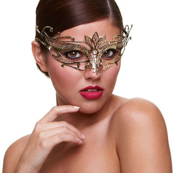 Sexy Burlesque Masquerade Mask  Baci Masq  Private Affair  Eye Mask
