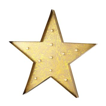 51-034 Star Marquee Sign - Free Shipping!