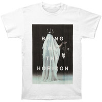 Bring Me The Horizon Men's  Cloaked T-shirt White Rockabilia