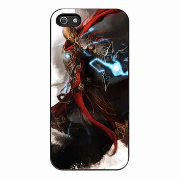 iron man thor nick furry black widow hawk for Iphone 5 Case *NP*