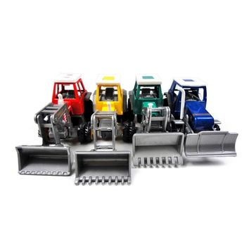 Vehicle Model Tractor Wind Up Car Toy