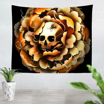 Death Bloom Tapestry