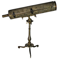 Brass And Shagreen Telescope