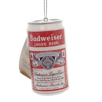 Holiday Ornaments BUDWEISER CAN Plastic Ornament Beer Inbev Bud Alcohol Ab1140