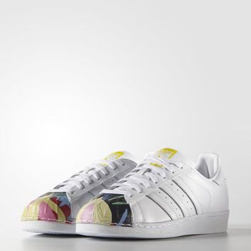 adidas Superstar Pharrell Supershell Shoes - White | adidas US