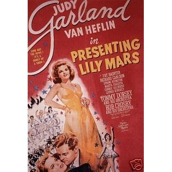 Presenting Lily Mars Movie Poster Judy Garland Vintage