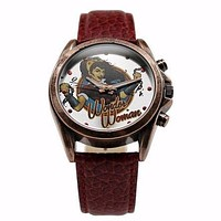 Wonder Woman DC Comics Bombshell Watch (WOW5025)