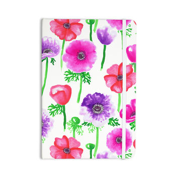 "Anneline Sophia ""Anemones"" Pink Flowers Everything Notebook"