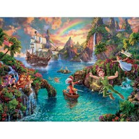 Thomas Kinkade The Disney Collection Peter Pan Jigsaw Puzzle - Puzzle Haven