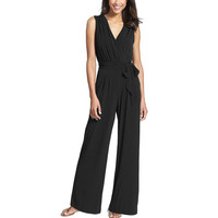 Jumpsuit Pants Hot Sale Sleeveless V-neck One Piece [10199492295]