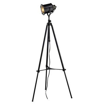 Ethan Adjustable Tripod Floor Lamp in Restoration Black
