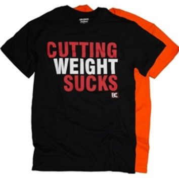 Cutting Weight Sucks Wrestling T-Shirt