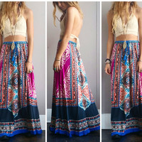A Beautiful Mind Maxi Skirt