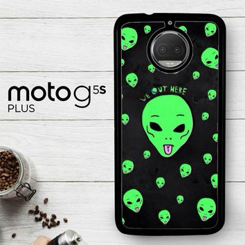 Alien We Out Here X4148  Motorola Moto G5S Plus Case